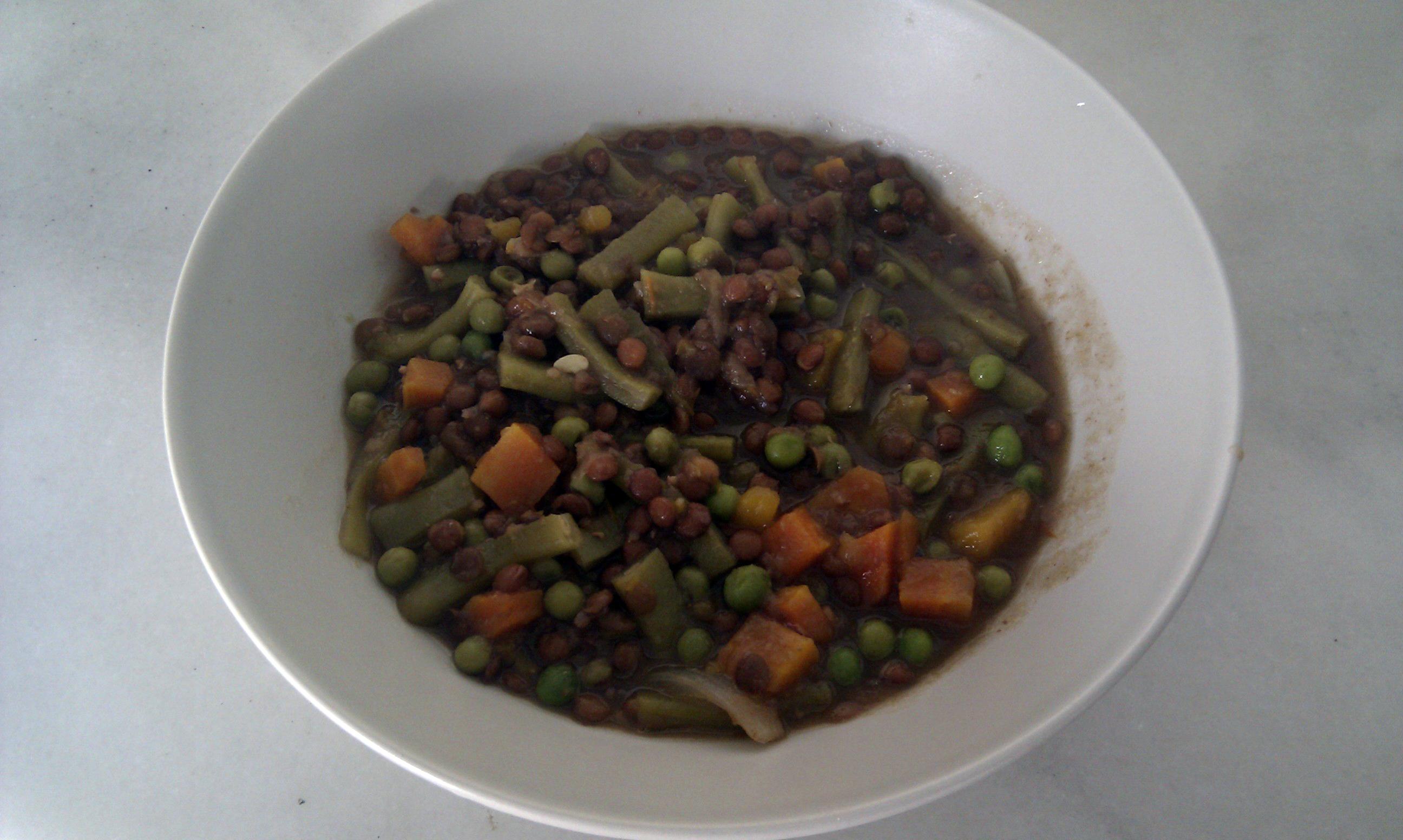 Diabetes historia 1857557 for Cocinar lentejas con verduras